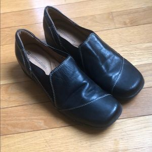 Women's Naturalizer Black Leather Walking sz 7